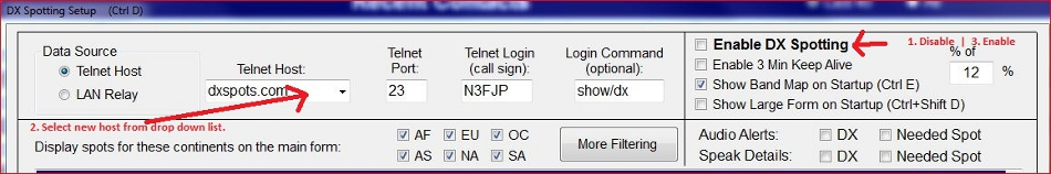 N3FJP's Amateur Radio Software
