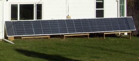 Aluminum Downspout Solar Hot Air Collector Construction